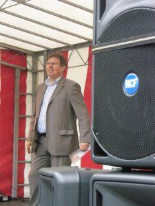 wethouder Gregor Rensen